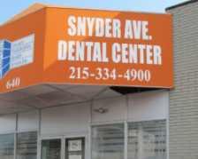 Snyder Avenue Dental Center