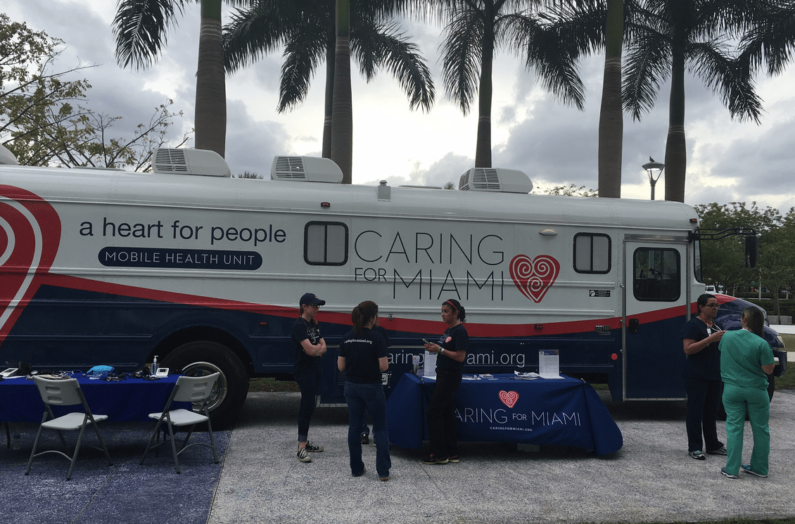 Caring for Miami - Mobile Health Unit - Free Dental Care