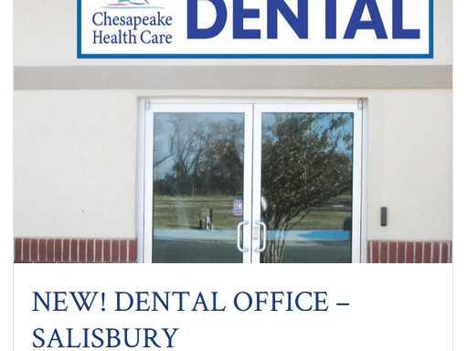 Salisbury Dental - Chesapeake Health Care