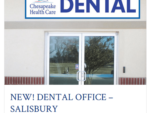 Salisbury Dental - Chesapeake Health Care